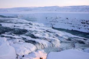 gullfoss, IJsland foto