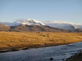 IJslandse velden van geel