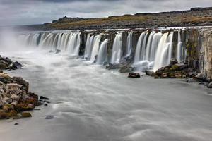de krachtige selfoss-waterval foto