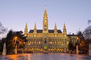 het stadhuis van Wenen (rathaus)