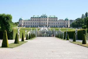 belvedere kasteel in wenen