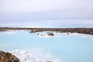 IJslandse blauwe lagune