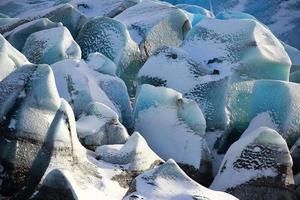 gletsjerijs foto