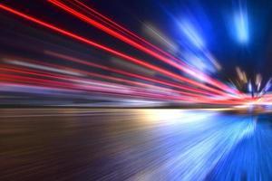 autolampen - lange blootstelling