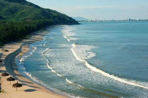 vietnam strand, vietnam kust, landschap