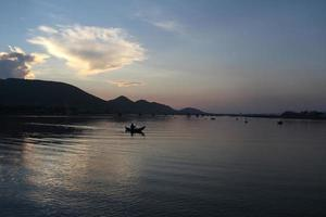 ochtend op ninh chu strand phan belde vietnam