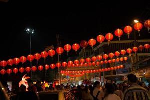 Chinatown in het Thais 2015 foto