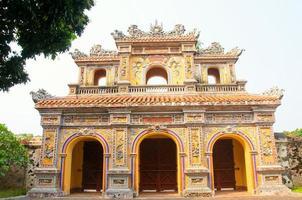 hien nhon paviljoenpoort, de citadel - hue, vietnam