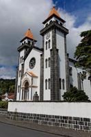 kerk in furnas van sao miguel foto