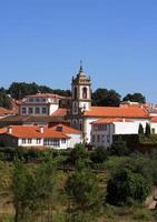 portugal, sabrosa - wijnstad in de douro-regio. foto