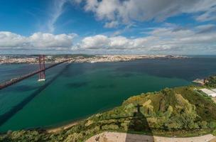 panoramisch uitzicht van Lissabon