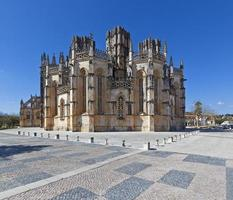de onvoltooide kapellen - capelas imperfeitas van het batalha-klooster foto