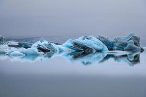 ijsberg en beweging foto