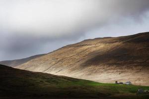 kleine boerderij aan de voet van het schiereiland Snaefellsnes, in het westen van IJsland foto