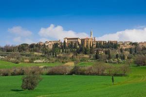 het middeleeuwse stadje Pienza