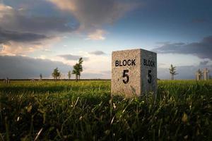 oorlogsbegraafplaats in bartosze foto