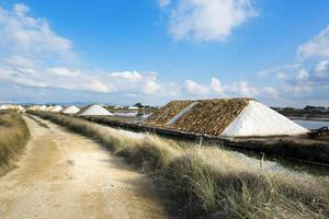 zoutoplossing van trapani