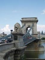 kettingbrug, boedapest, hongarije