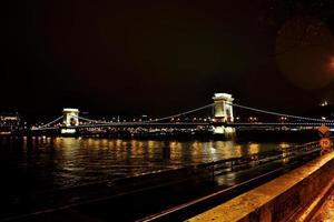 boedapest nacht foto