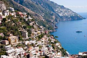 positano, amalfikust italië foto