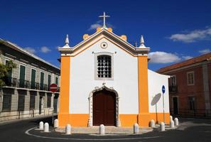 portugese barokke kapel in lumiar, lissabon, portugal foto