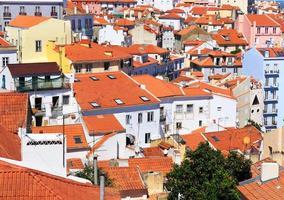 Lissabon stadsgezicht