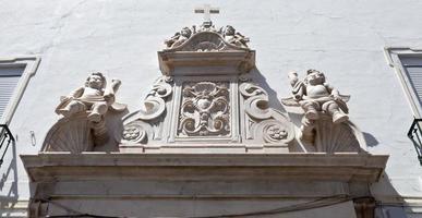 elvas architectonisch detail foto