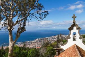 uitzicht op Funchal, het eiland Madeira, Portugal foto