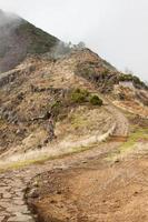 pico do arieiro op het eiland madeira, portugal