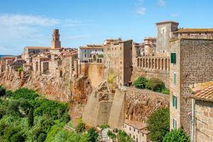 oude stad pitigliano Toscane Italië foto