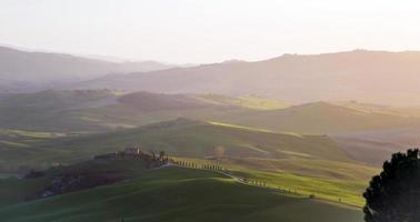 val d'orcia in Toscane