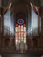 orgel in de kathedraal in Poznan, Polen