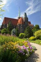 kathedraal van st. Johannes de Doper. wroclaw, polen