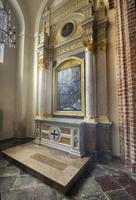 kapel van st. martin in de kathedraal in poznan, polen foto