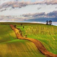 Tsjechische platteland, Zuid-Moravië.