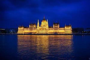 het parlement in boedapest