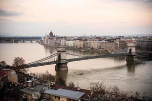 chain bridge, boedapest