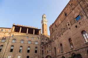 historische oude binnenstad van Siena, Italië
