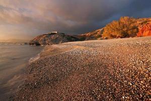 stormachtig Kreta, Griekenland. foto