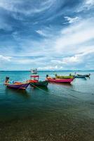 vissersboten in Thailand foto