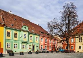 Sighisoara middeleeuwse stad, Roemenië