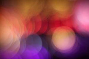 levendige kleurrijke cirkels foto