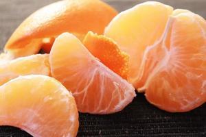 een gepelde clementine