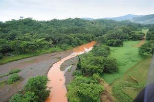 luchtfoto in costa rica foto