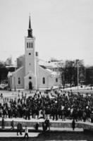 revolutie in Tallinn foto