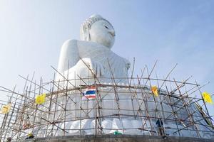 bigbuddha bij naga heuvels foto