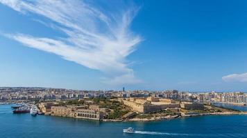 panorama van fort manoel in valletta, malta