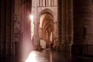 t. michael en st. gudula kathedraal foto