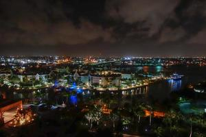 luchtfoto van nassau foto