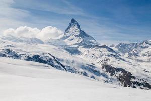 Matterhorn, Zermatt, Zwitserland. foto